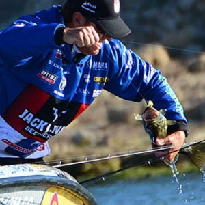 Major League Fishing pro Dean Rojas