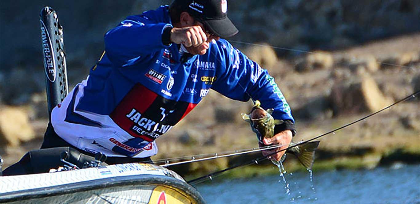 Major League Fishing pro Dean Rojas