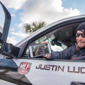 Major League Fishing pro Justin Lucas