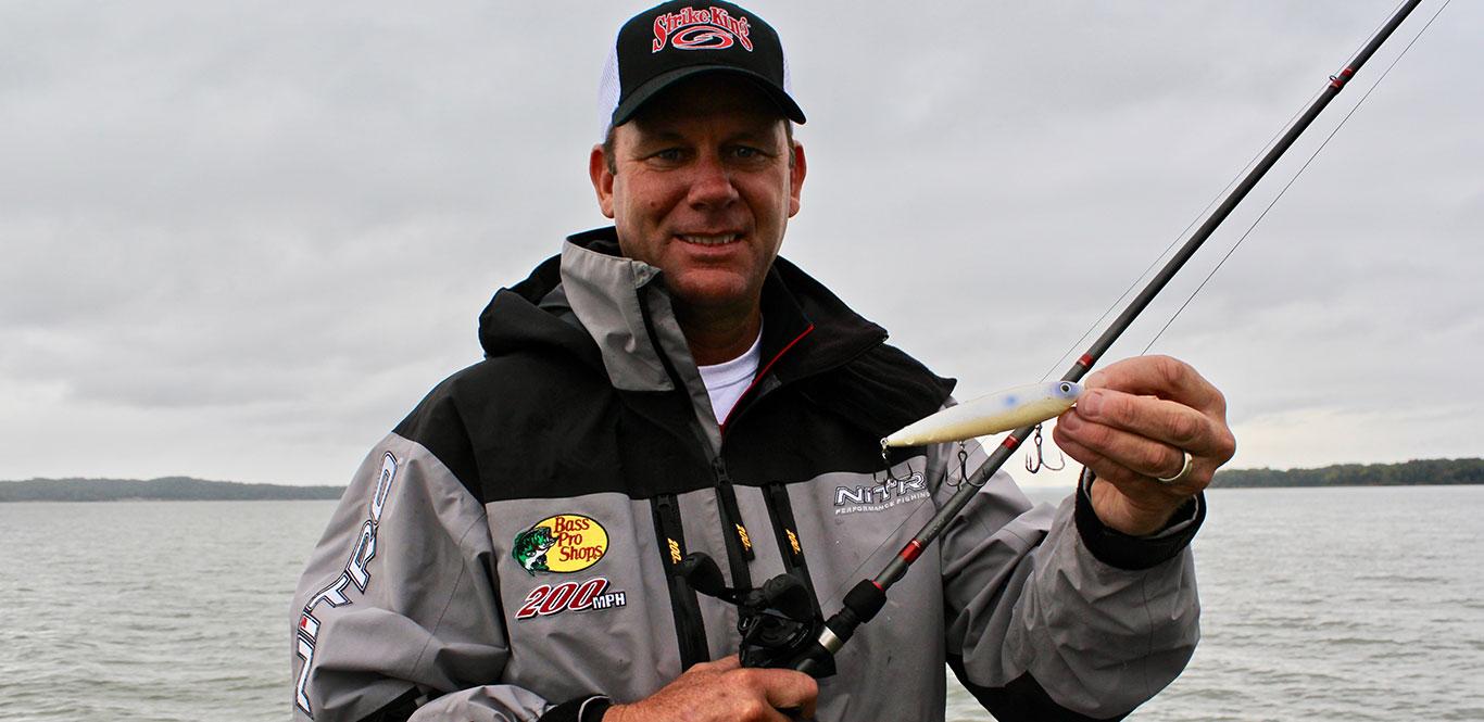 VanDam on Fishing Fall Drawdown and Transition - Major