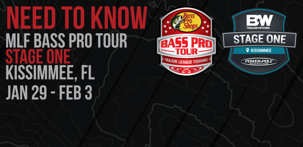 Image for NEED TO KNOW: How to View, Attend Bass Pro Tour Stage One in Kissimmee