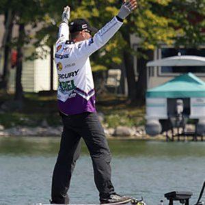 Major League Fishing pro Aaron Martens