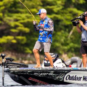 Major League Fishing pro Brent Chapman