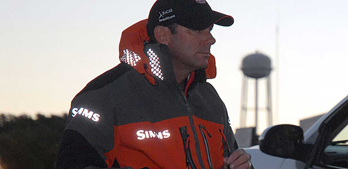 Major League Fishing pro Kevin VanDam