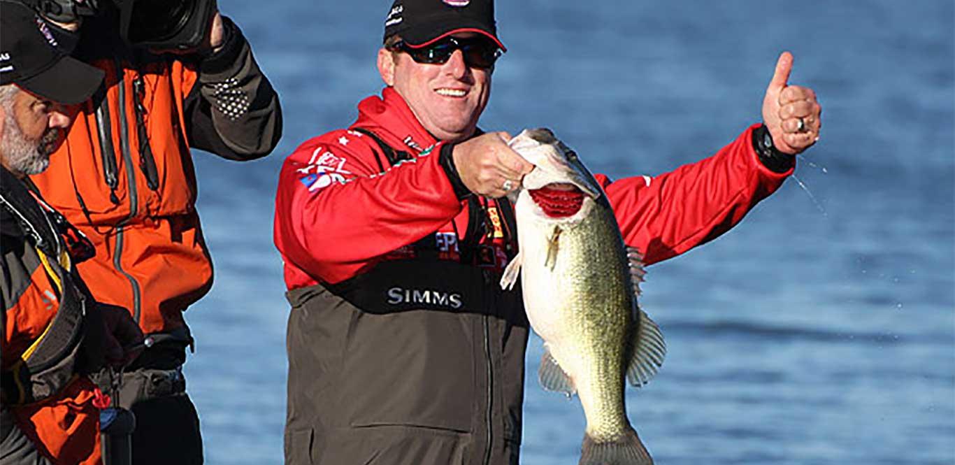Major League Fishing pro Kelly Jordon