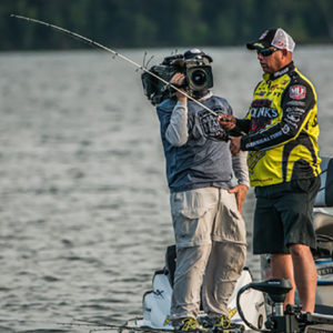 Major League Fishing pro Bobby Lane