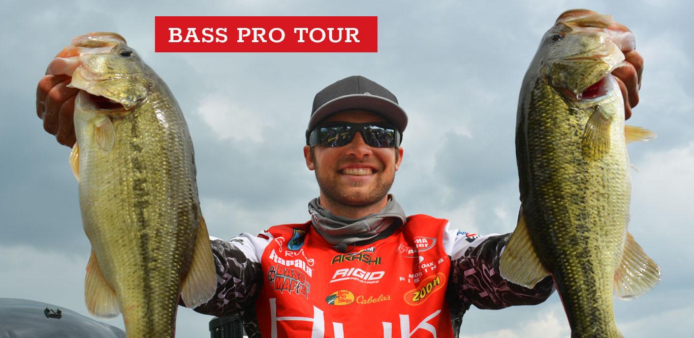 Major League Fishing pro Brandon Palaniuk