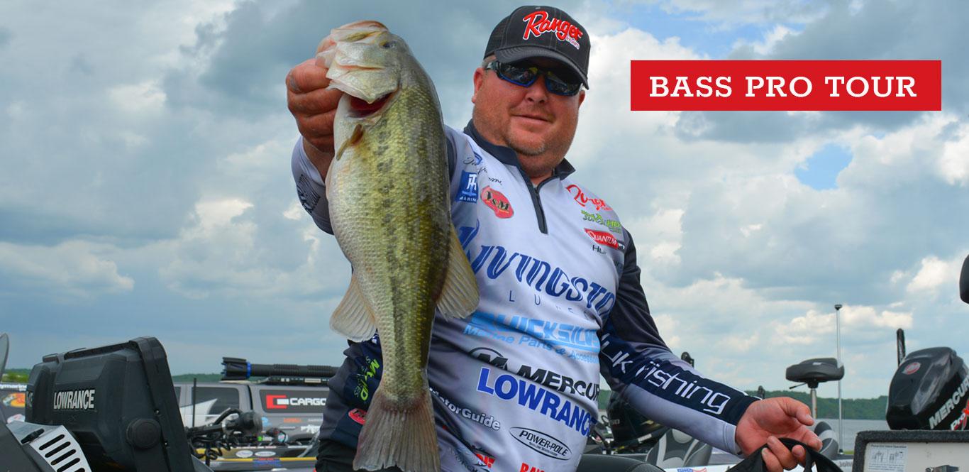 Major League Fishing pro Jacob Powroznik