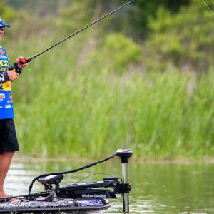Major League Fishing pro Brandon Coulter