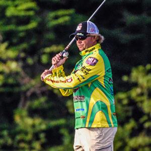 Major League Fishing pro Tim Horton