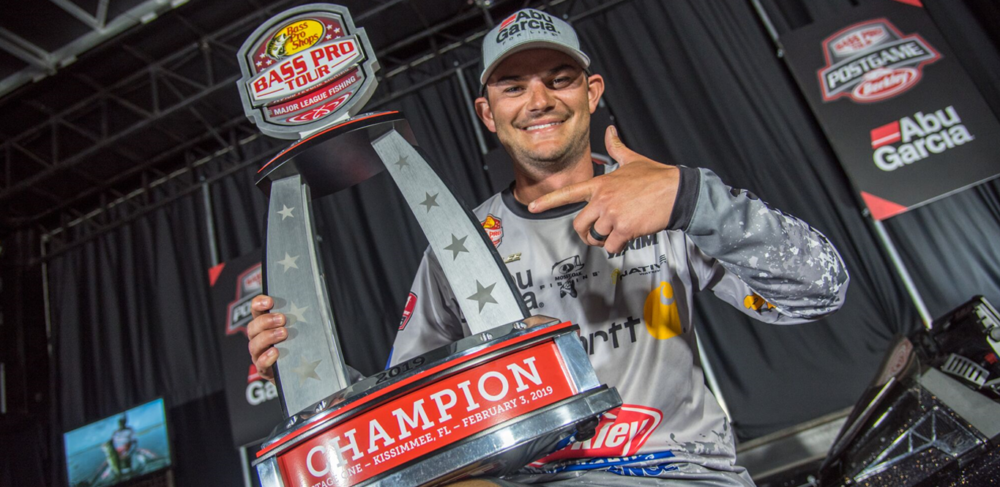 Image for Jordan Lee Claims Inaugural MLF Bass Pro Tour Title with Third-Period Flurry