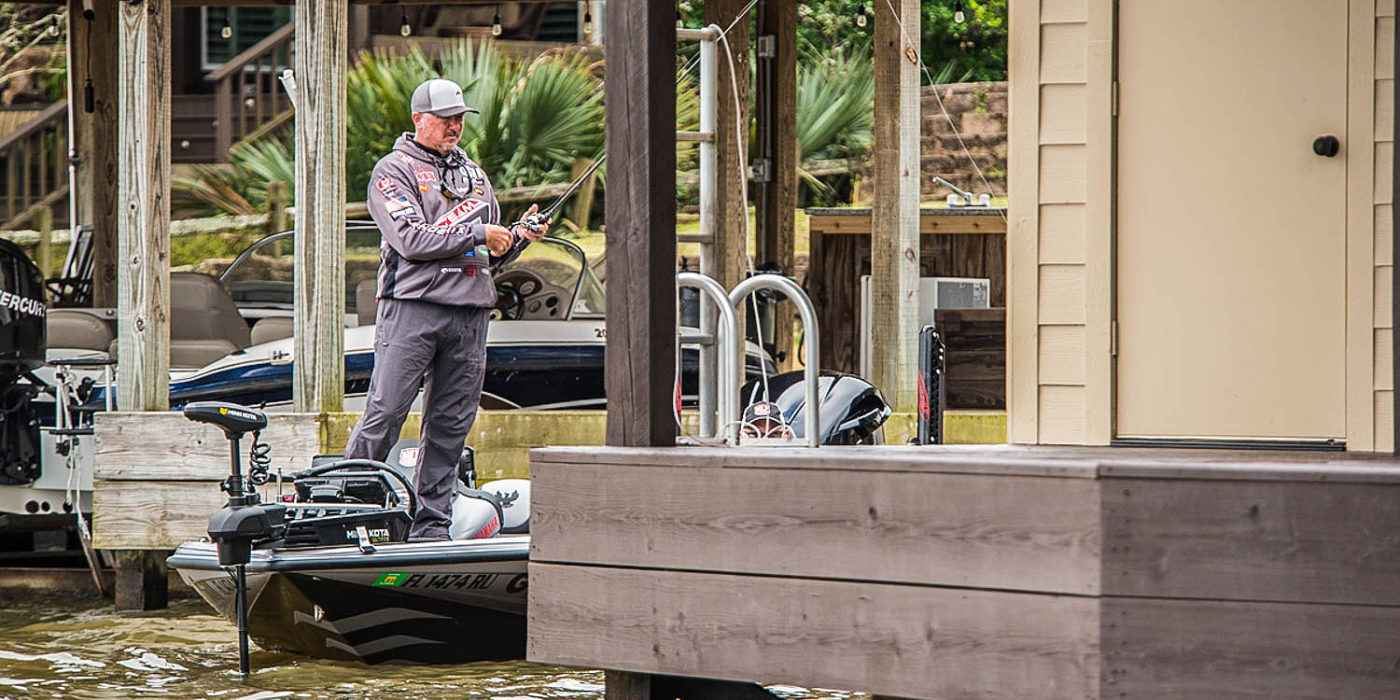 Randall Tharp is sticking with the baits, techniques and big-fish approach that got him to the Bass Pro Tour. Photo by Garrick Dixon