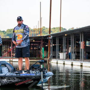 Major League Fishing pro Chris Lane