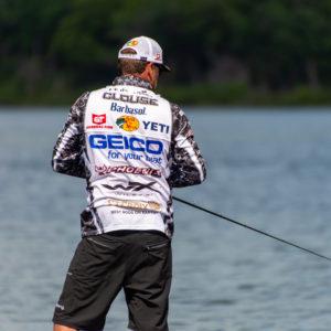Major League Fishing pro Gary Clouse