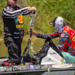 Major League Fishing pro Wesley Strader