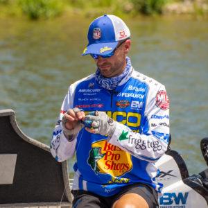 Major League Fishing pro Randy Howell