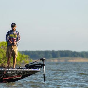 Major League Fishing pro Jordan Lee