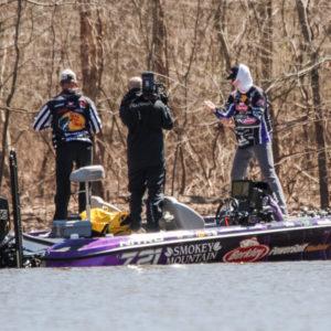 Major League Fishing pro Josh Bertrand