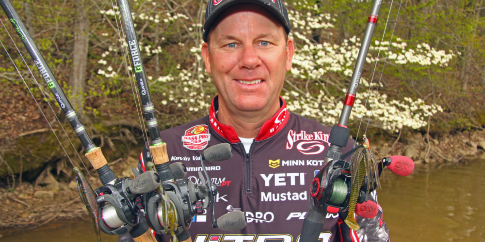 Image for VanDam Looks for Dogwoods, Mimics Nest Robbers for Spawning Bass