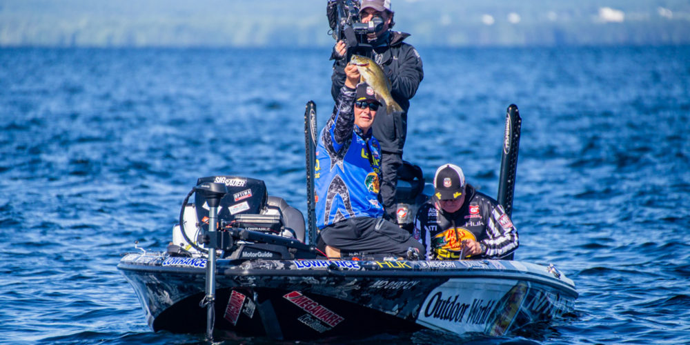 Image for Coulter's Carolina Rig Makes Quick Work of Champlain Smallmouth