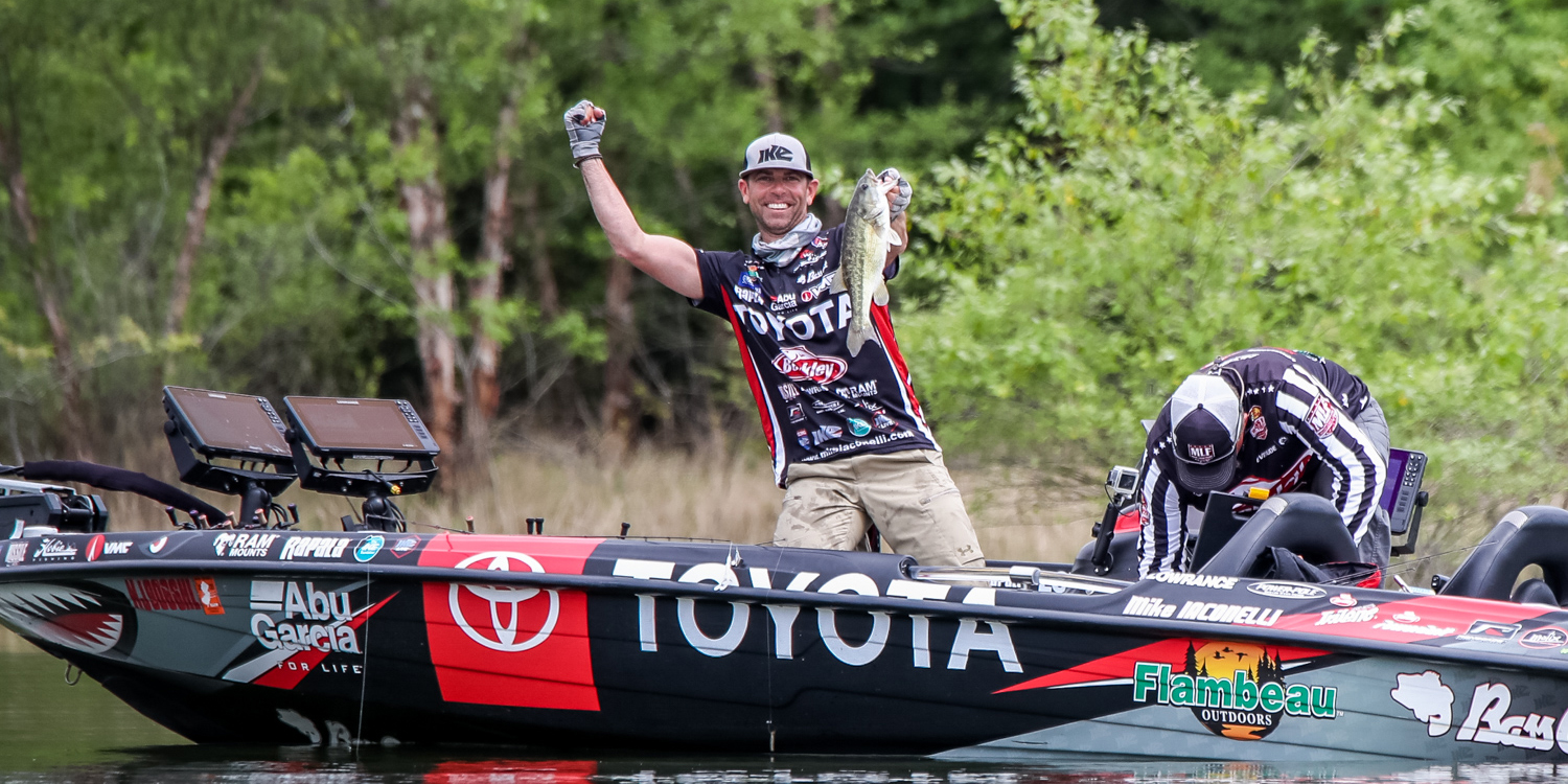 Iaconelli Having Success 'Fishing in the Moment' - Major ...