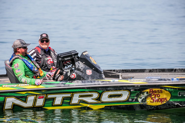 Timmy Horton Major League Fishing