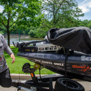 Bradley Roy has a brand new Covercraft boat cover, and he says they'll be available to the public soon.