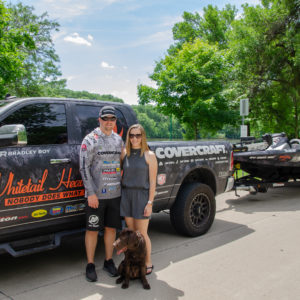 Bradley Roy travels the country with his wife, Danielle, and their Lab puppy, Jack.
