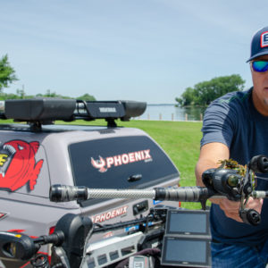 Lane says Winn Grips can reduce stress on the hands and body, enabling anglers to lighten grip pressure, increase control, enhance accuracy.