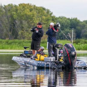 Jacob Powroznik hooks another one. Photo by Jesse Schultz