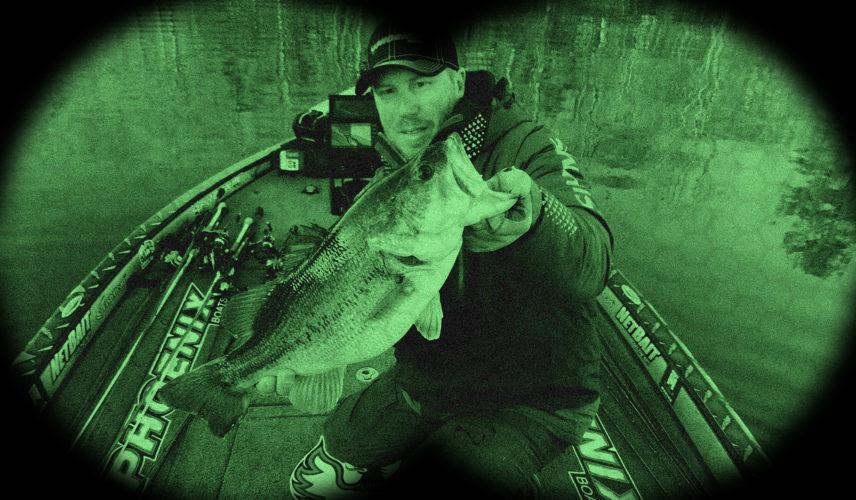 Image for Greg Vinson's Spinnerbait Tips for Night Fishing Success