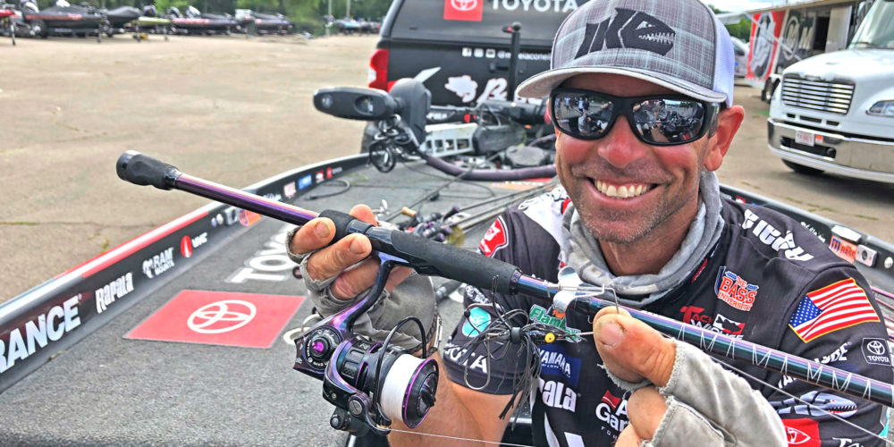 Image for Iaconelli's Tiny Buzzbait Trick Did the Trick on the Upper Mississippi