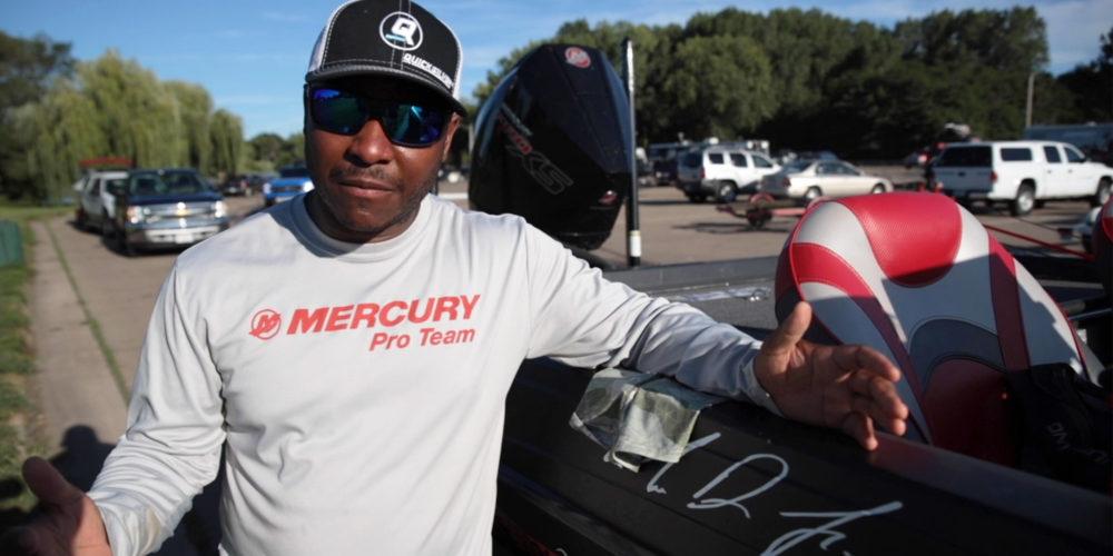 Major League Fishing pro Mark Daniels, Jr.