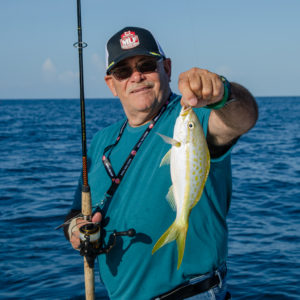 Ultimate Dream winners caught several yellowtail snapper.