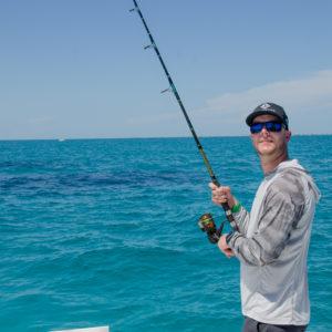Jonathon VanDam fishing offshore. Photo by Rachel Dubrovin.