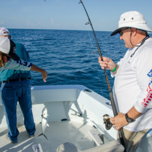 One of the Ultimate Dream winners boated a mackerel. Photo by Rachel Dubrovin.