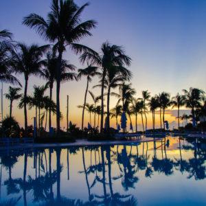 Sunrise at Hawks Cay Resort. Photo by Rachel Dubrovin.