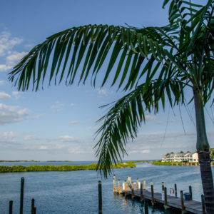 The view from Angler and Ale, where Ultimate Dream winners ate after inshore fishing. Photo by Rachel Dubrovin.