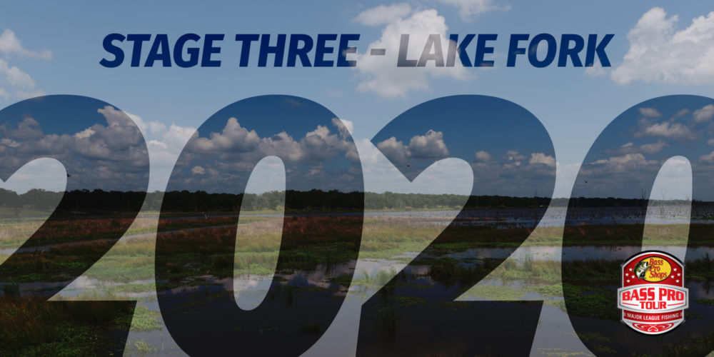 Image for STAGE THREE 2020: Prepare for Giants When Bass Pro Tour Lands at Lake Fork