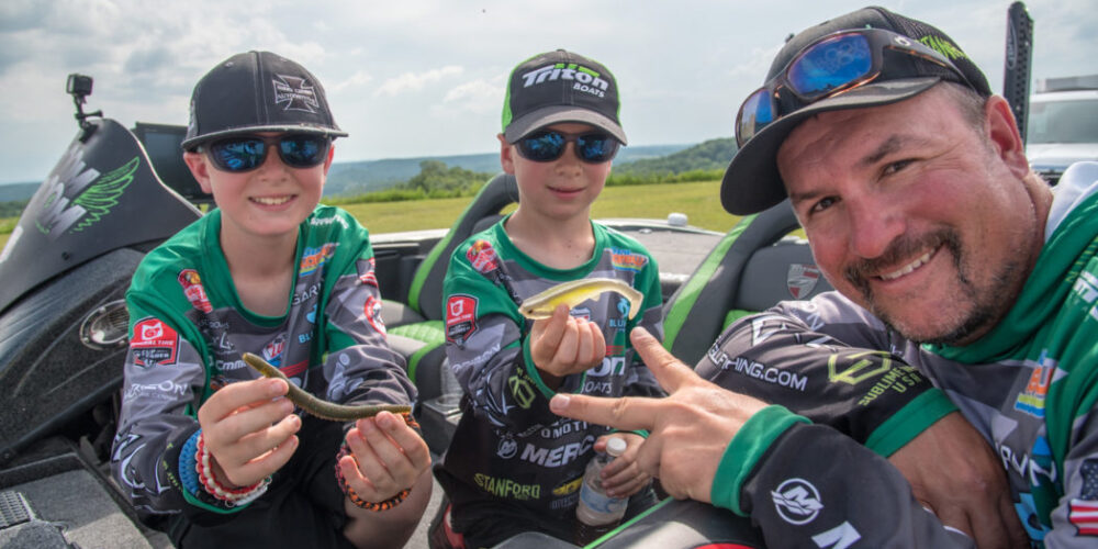 """Image for Roumbanis Has Made a Living on """"Tournament-Sized Swimbaits"""""""