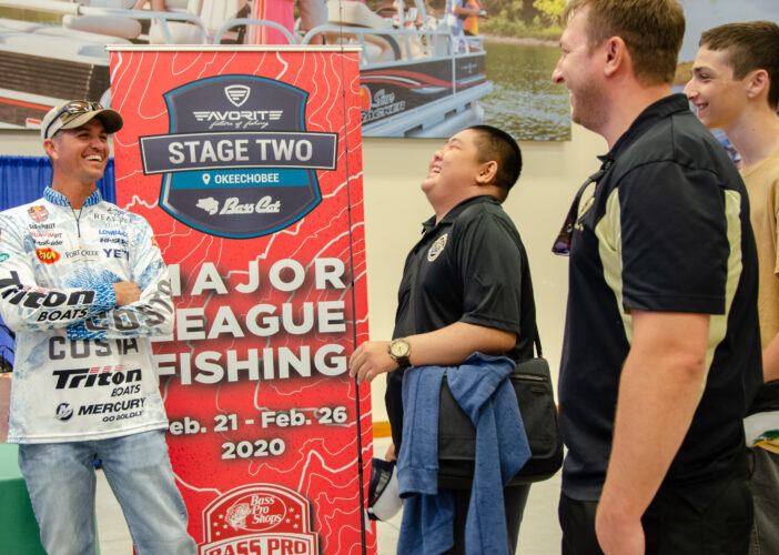 Image for GALLERY: Fans Meet the Pros at Bass Pro Shops Port St. Lucie