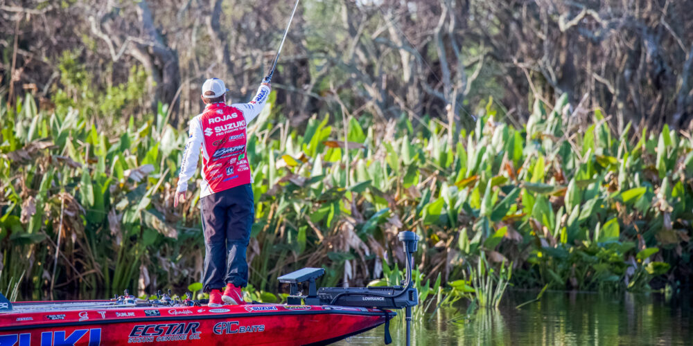 Image for Frog Fiend Dean Rojas Picks up Flipping, Pitching Gear for Spring Success