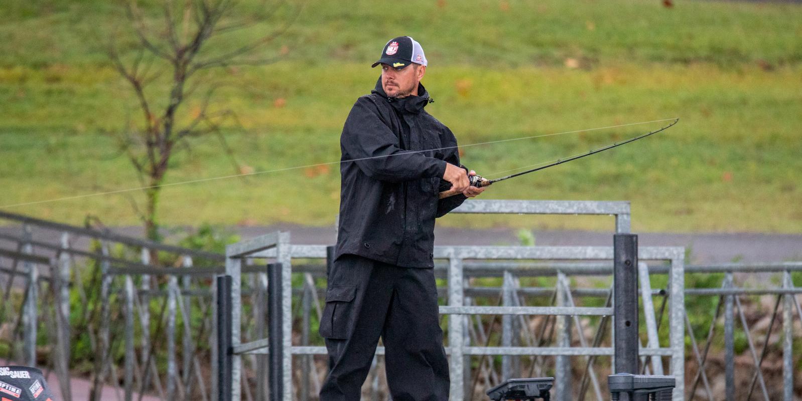 Major League Fishing pro Jason Christie