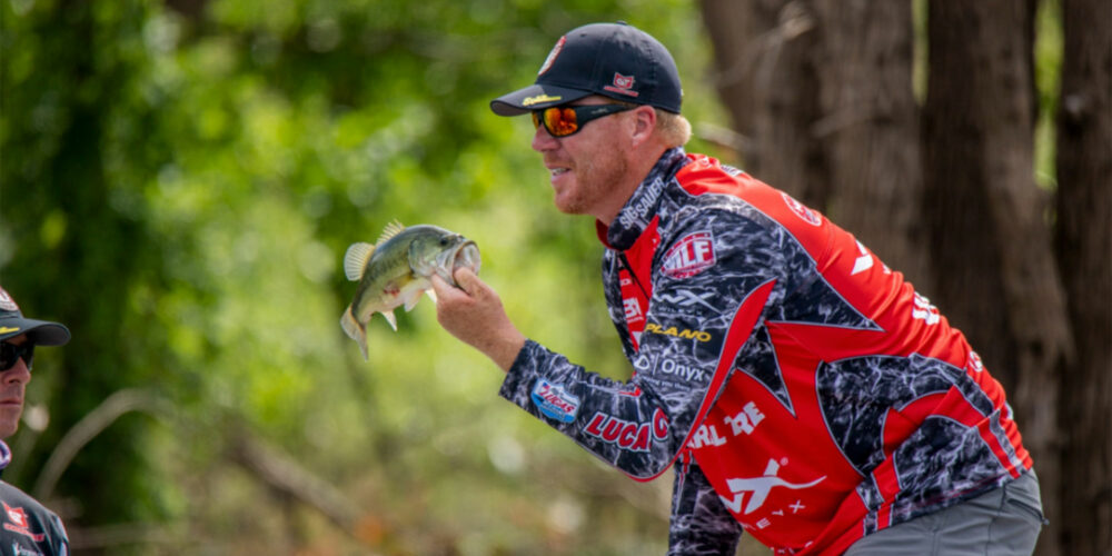 Image for Vinson Mixed it up With Crankbaits, Topwater to Win Patriot Cup Elimination Round 1