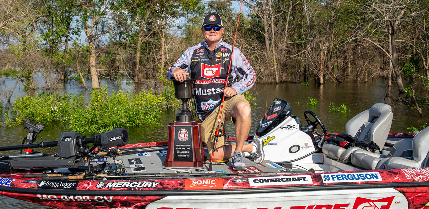 MLF pro Mark Rose wins the 2020 Patriot Cup