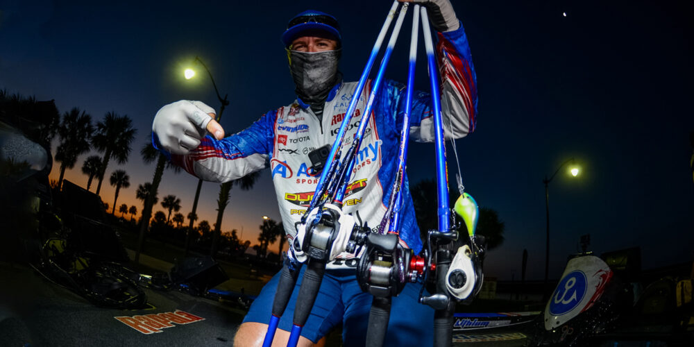 Image for TOP 10 BAITS: Here's How Jordan Lee and the Final Field Caught 'Em on the Kissimmee Chain