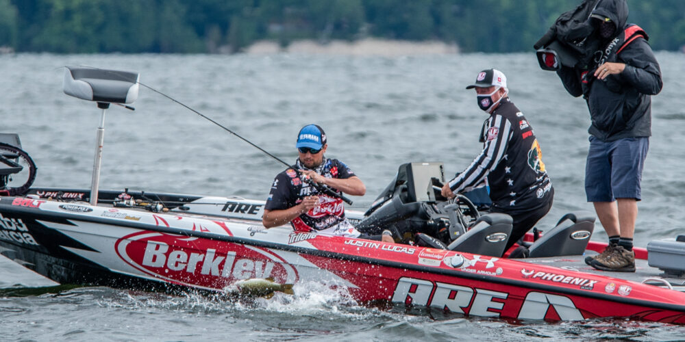 Image for Lucas Cruises to 205 Pounds, Dudley Makes Massive Move on Day 3 at Sturgeon Bay