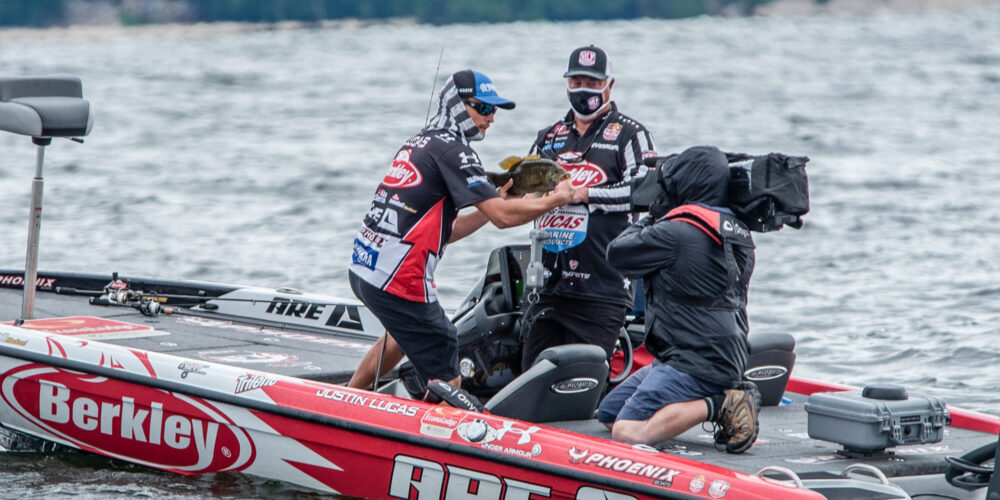Image for Lucas Tackles Bass Pro Tour Trifecta with 205-Pound, Two-Day Total