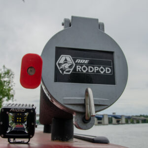 Myers can fit more than a dozen rods in each of his A.R.E Rod Pods.