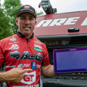 Myers says his Lowrance units were a huge help when it comes to finding fish during Stage Five of the Bass Pro Tour.